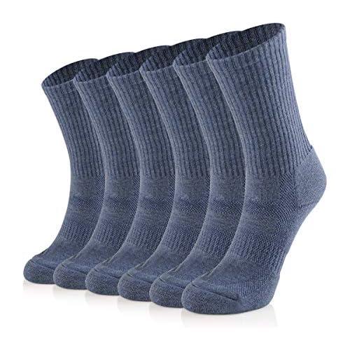 Soxtown 6 Pairs Women's Super Soft Comfy Sport Cotton Socks