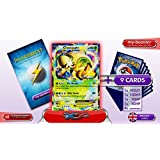 CHESNAUGHT EX XY18 (PROMO) 180HP XY - Optimized THUNDERBOLT booster cards - 10 English Pokemon trading cards