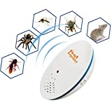 Compia Mosquito Killer⭐Pest Repeller Ultrasonic Wave Frequency Conversion Multifunction Mices, Cockroaches, Mosquitoes, Spiders, Bugs Repellent