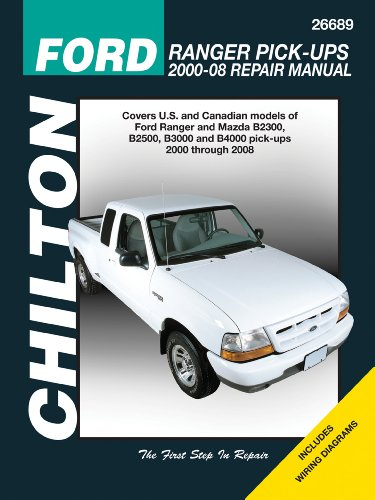 2003 Ford Ranger Manual (Chilton's Ford Ranger Pick-Ups 2000-2008 Repair Manual (Chilton's Total Car Care ))