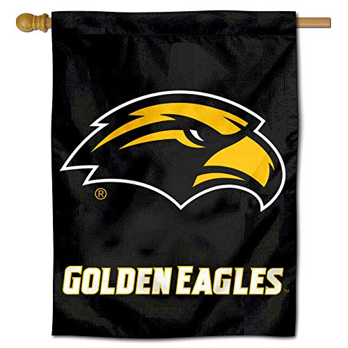 College Flags and Banners Co. Southern Miss Eagles Double Sided House Flag