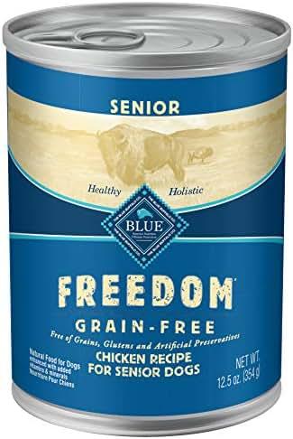 Dog Food: Blue Buffalo Freedom Senior Canned Food
