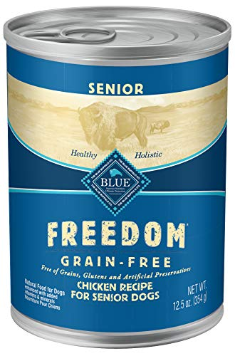 Blue Buffalo Freedom Grain Free Natural Senior Wet...