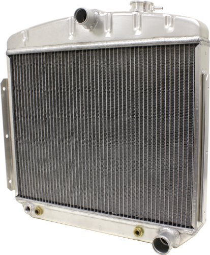 - 1955-56 Compatible/Replacement for Chevy Direct Fit Aluminum Radiator - Direct Replacement