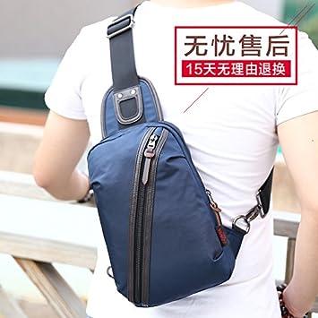 Color : Coffee Single Shoulder Canvas Bag Korean Fashion Multifunctional Large Capacity Backpack Canvas Bag Mens Shoulder Messenger Bag
