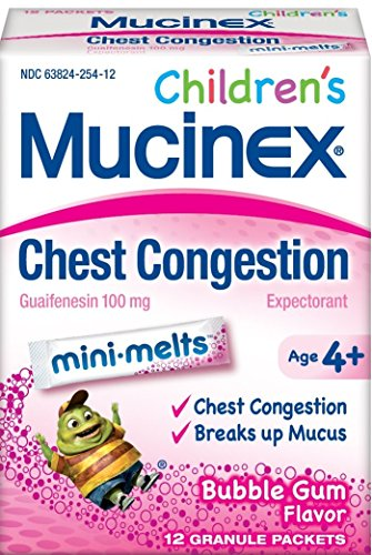 Mucinex Childrens Melts Congestion Bubble product image