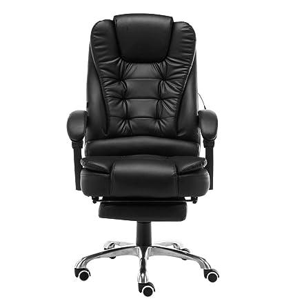 office chair Gaming Silla de computadora Silla giratoria Ascensor 150 Grados pie reclinable Silla de Masaje