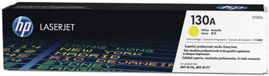 HP 130A | CF352A | Toner Cartridge | Yellow