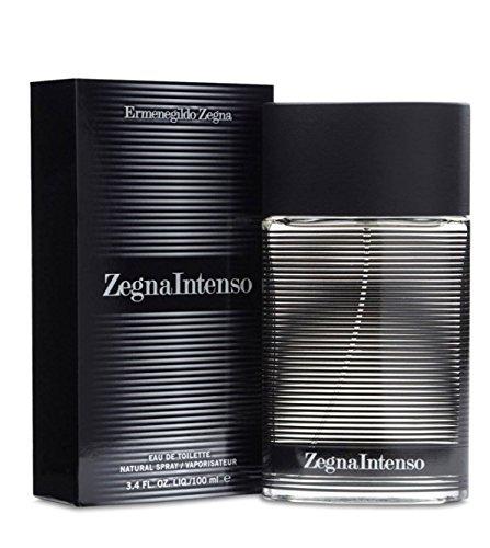 Ermenegildo Zegna Intenso Eau De Toilette Spray for Men, 3.4 Ounce from Ermenegildo Zegna