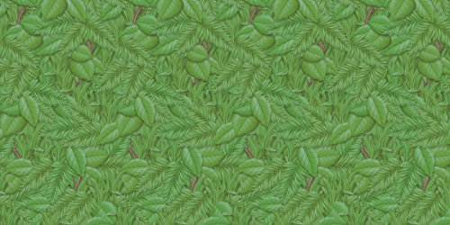 (Fadeless  Bulletin Board Art Paper, Tropical Foliage,  48