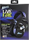 Mack's Live Fire Electronic Shooting Earmuffs Black
