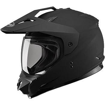 Gmax G5115076 Dual Sport Solid Helmet