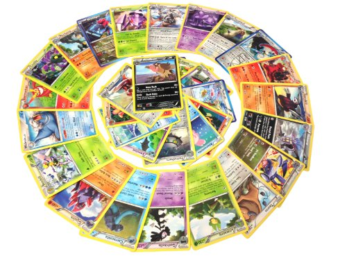 25 Rare Pokemon Cards with 100 HP or Higher (Assorted Lot with No Duplicates) Photo - Pokemon Gaming