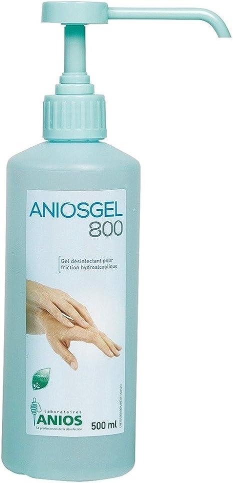 Aniosgel 800 500 Ml Bottle With Pump Dispenser Amazon Co Uk
