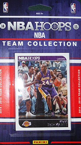 Los Angeles Lakers Brand New 2014 2015 Hoops Basketball Factory Sealed 9 Card NBA Licensed Team Set with Kobe Bryant and More (Nash Steve Card)