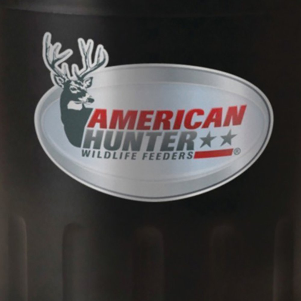 feeder feeders american gallon watch wildlife hanging moultrie pro hunter youtube