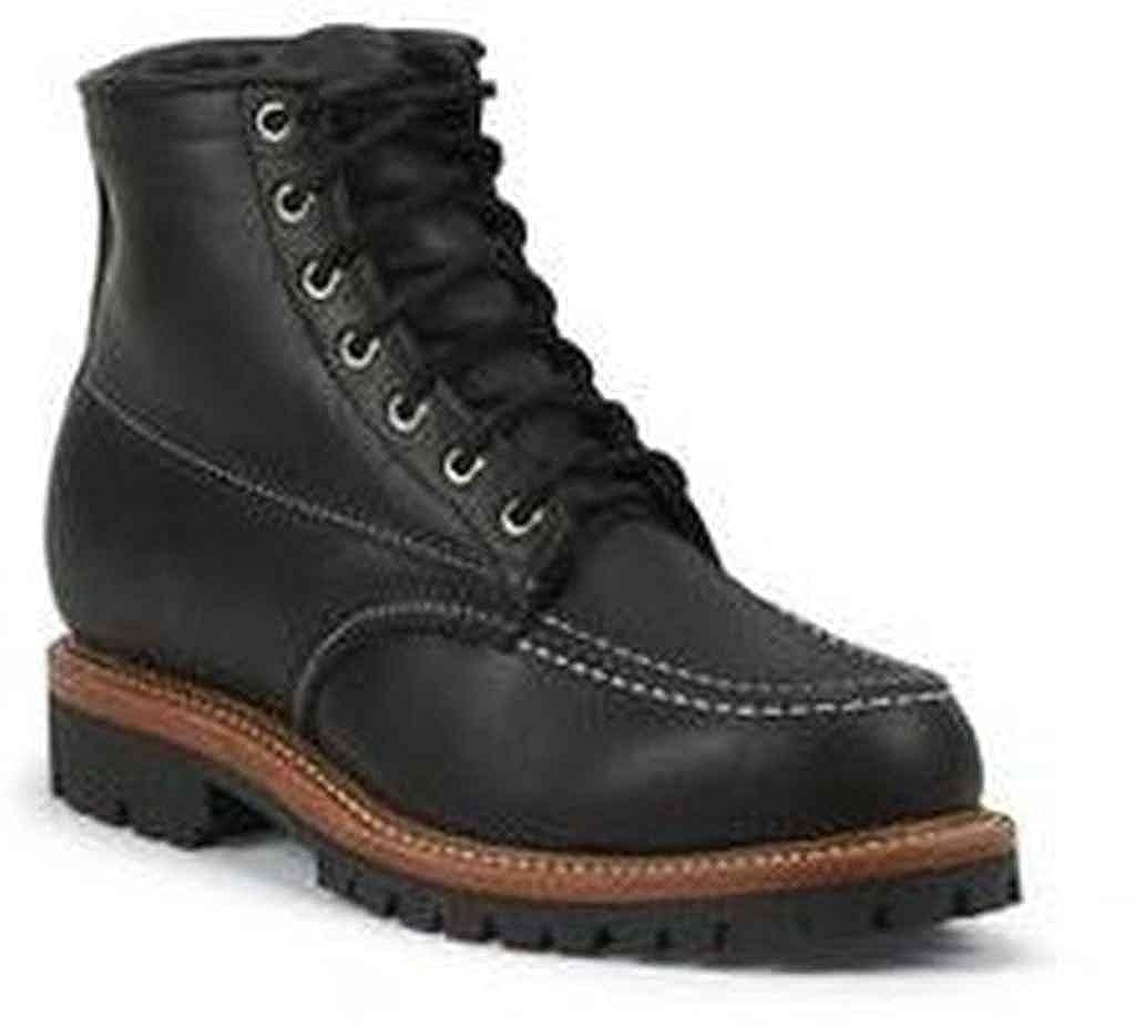 Chippewa Insulated Men's 1975 Original Insulated Chippewa Trekker Mountaineer Boot Moc Toe - 6068Blk 7 E US Black B00J03KOA4 21f019