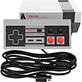 Ortz 10ft Controller for NES Classic Mini [TURBO EDITION] Buttons - Classic Edition Console - Best Wired Controller Gamepad For Nintendo Gaming System [Works with Wii U]
