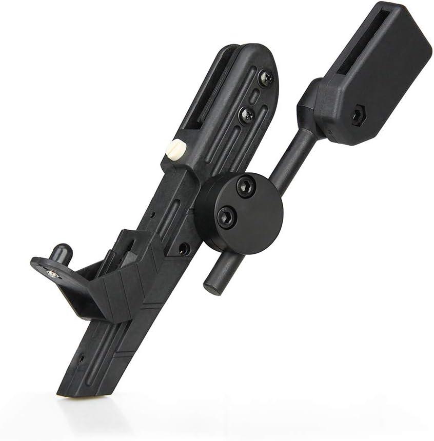 ningfulu101 Kit de Accesorios tácticos de Manga de Cintura Militar para Pistola de Transporte Oculta táctica para IPSC CR Pistola de Caza con cinturón de Velocidad táctico para Airsoft Black