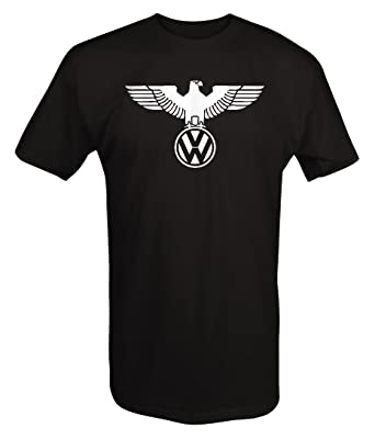VW German Eagle Volkswagen Euro JDM GTI R32 Turbo T shirt -Medium