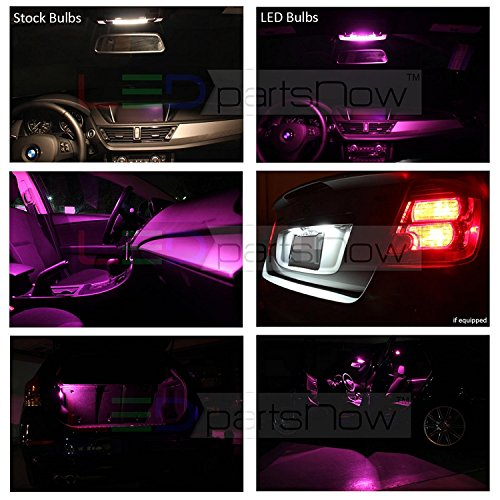 Blue LED Interior Light Replacement Kit for 2003-2018 Toyota 4Runner 18 bulbs