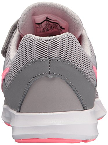 Nike Girls' Downshifter 7 (PSV) Running Shoe Gunsmoke/Sunset Pulse - Atmosphere Grey 11 M US Little Kid by Nike (Image #2)