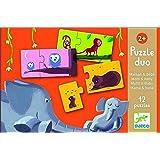 Djeco - 79690 - Puzzle Duo - Maman Et Bébé - 2 Pièces