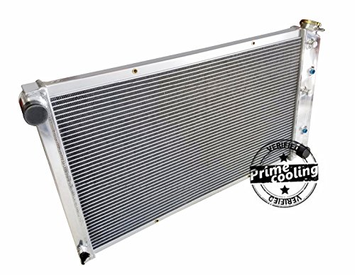 Pickup Truck Car Radiator (Primecooling 3 Row Aluminum Radiator for GM Cars, Chevrolet /Buick /GMC Truck Pickup / 34'' Overall Wide, CC161)