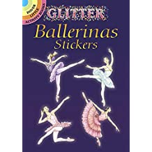 Glitter Ballerinas Stickers