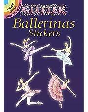 Glitter Ballerinas Stickers