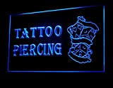Tattoo Piercing Dice Poker Led Light Sign