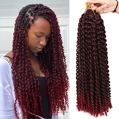 6 Packs Passion Twist Hair The Best For Crochet Braids
