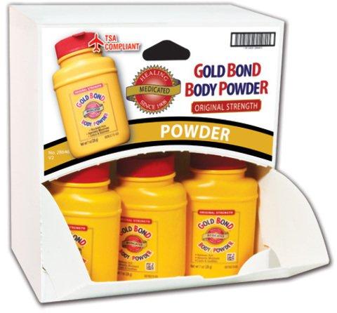 Gold Bond Body Powder Dispensit Case 144 pcs sku# 1865456MA by DDI