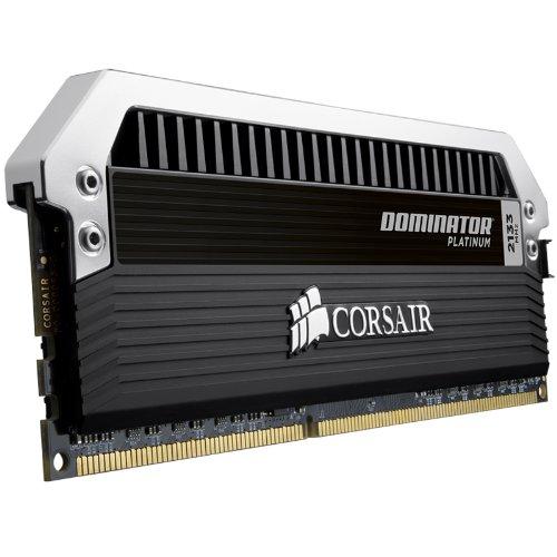 Corsair Dominator Platinum 32GB (4x8GB)  DDR3 2133 MHz (PC3 17000) Desktop Memory (CMD32GX3M4A2133C9)