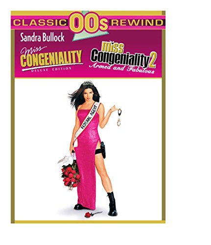 DVD : Miss Congeniality: Deluxe Edition / Miss Congeniality 2 (Deluxe Edition, Widescreen, Eco Amaray Case, 2 Disc)