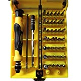 45 in 1 Precision Screwdriver Set Opening Tools Kits / Repair Tool Kits for Iphone/laptop/smartphone/macbook/xbox with Case by tekit