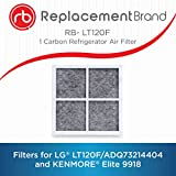 ReplacementBrand RB-L4 Comparable Filter for The LG LT120F/ADQ73214404 Refrigerate Air Filter