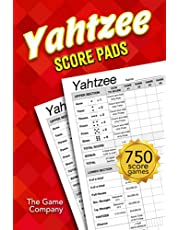 Yahtzee Score Pads: 125 Sheets for Scorekeeping - Yahtzee Score Cards with Size 6 x 9 inches