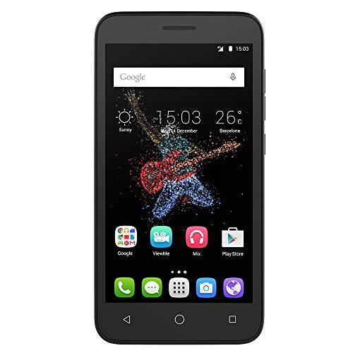 Alcatel ONETOUCH GO PLAY Water, Dust, & Shock Resistant 4g LTE Unlocked Android Smartphone - Factory Unlocked Phone - Dark Grey