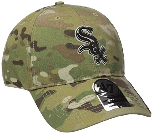 MLB Chicago White Sox Myers MVP Hat, One Size, Multicam