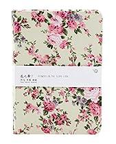 Floral Fabric Elegant Creative Graffiti Blank Diary Notepad Notebook Fan Art