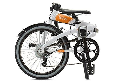 Tern Link D8 - Bicicleta Plegable, Color Blanco: Amazon.es: Deportes y aire libre