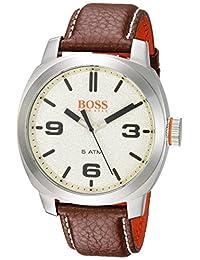 BOSS Orange Men's 1513411 CAPE TOWN Analog Display Quartz Brown Watch