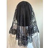 Embroidery Lace Veils Catholic Church Mantillas