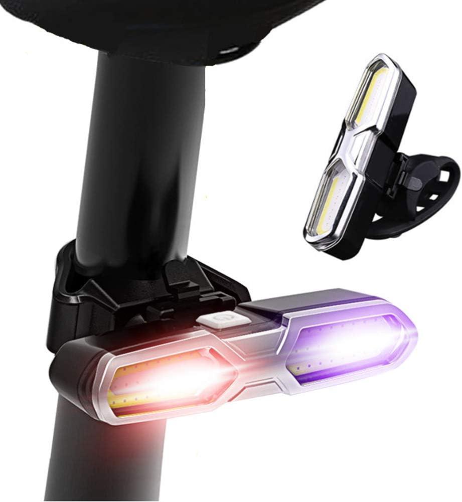 Nabowei Luz Trasera para Bicicleta Recargable USB - luz de Doble ...