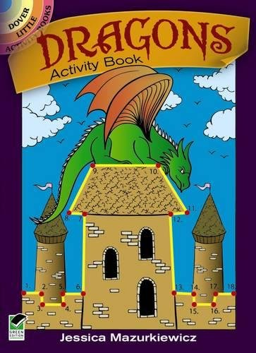 Travel Pad Activity (Dragons Activity Book (Dover Little Activity Books))