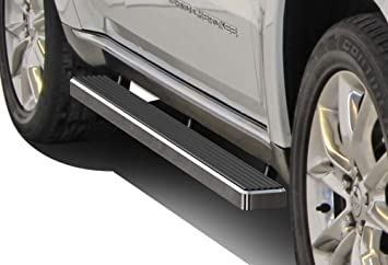 APS iBoard Running Boards 5 inches Custom Fit 2011-2020 Jeep Grand Cherokee Sport Utility 4-Door Exclude SRT and Trail Hawk Models Nerf Bars Side Steps Side Bars