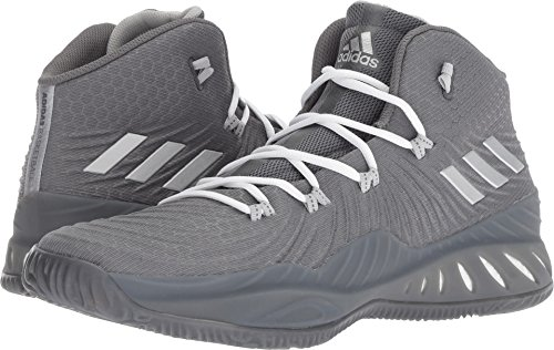 buy online f0946 5c384 adidas Mens Crazy Explosive 2017 Grey FourSilver MetallicGrey Two 8.5 D  US