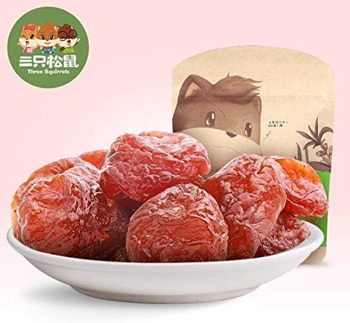 三只松鼠 蜂蜜半边梅 おつまみ 大人気 中国名物 零食果干 蜜饯果脯 果干话梅 116g