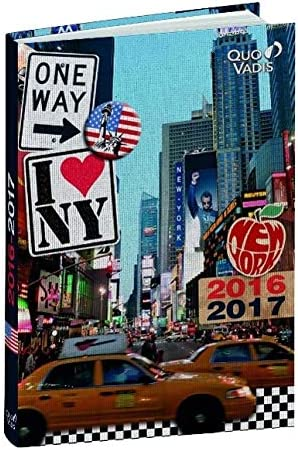Forum Cities Schülerkalender 2019/2020 Sortiert: Zwei Unterschiedliche Cover: London, New York